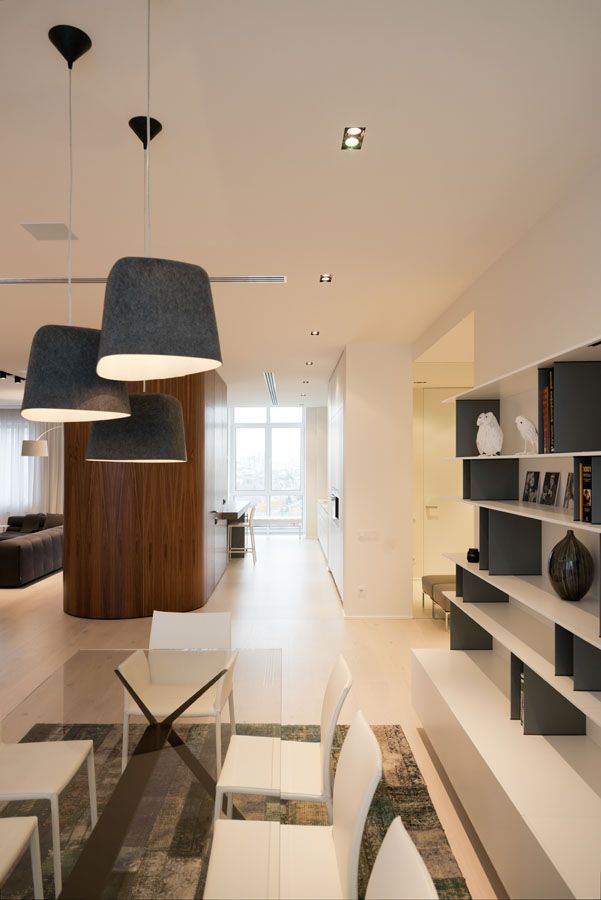 New arbat apartment by slproject