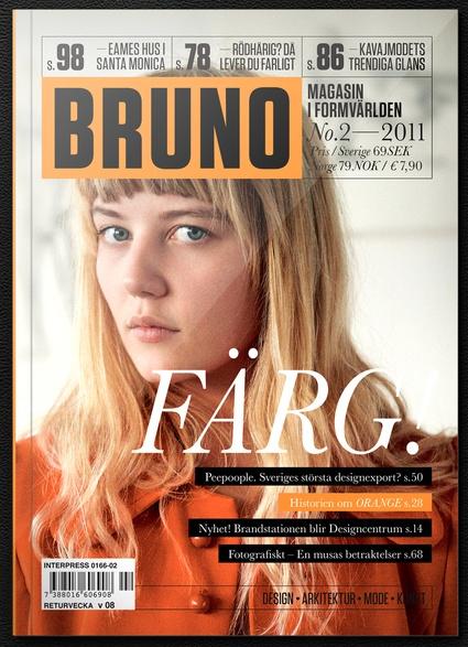 Bruno mag cover