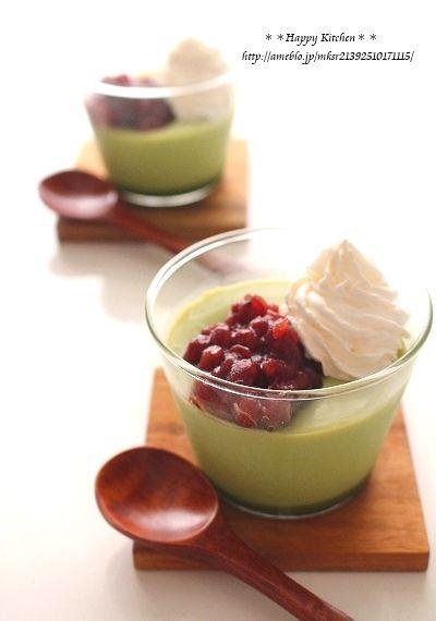 父の日に!甘さ控えめふるふる抹茶ミルクプリン、と大葉のフルブラ|たっきーママ オフィシャルブログ「たっきーママ@happy kitchen」Powered by Ameba