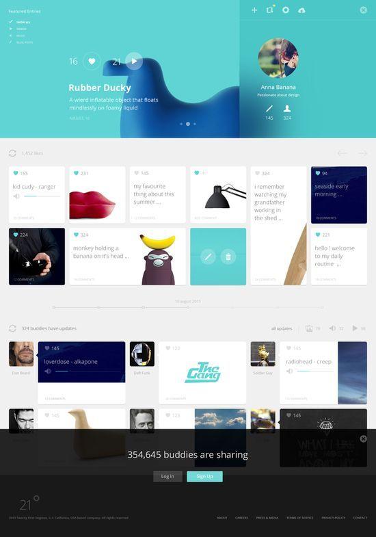 Lovely web design. Nice colours and | http://amazingwebdesignideas.blogspot.com