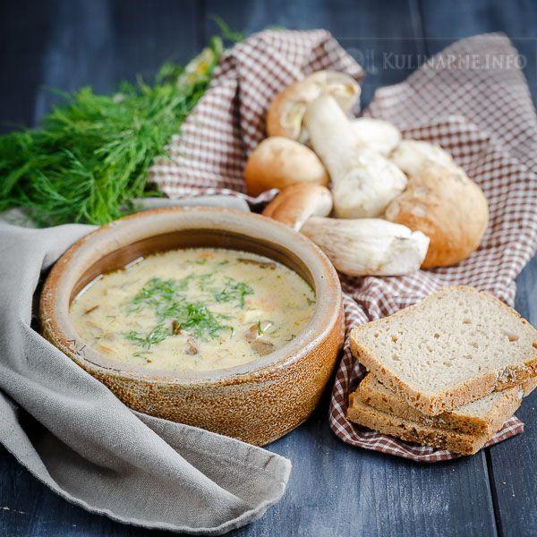 Zupa z borowików | Przepisy kulinarne ze zdjęciami