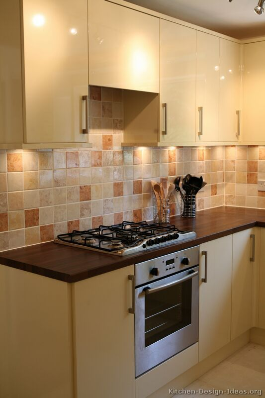 pine cabinets with tile backsplash google search