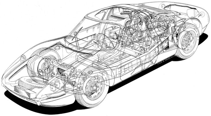 Porsche 904 1963 | SMCars.Net - Car Blueprints Forum