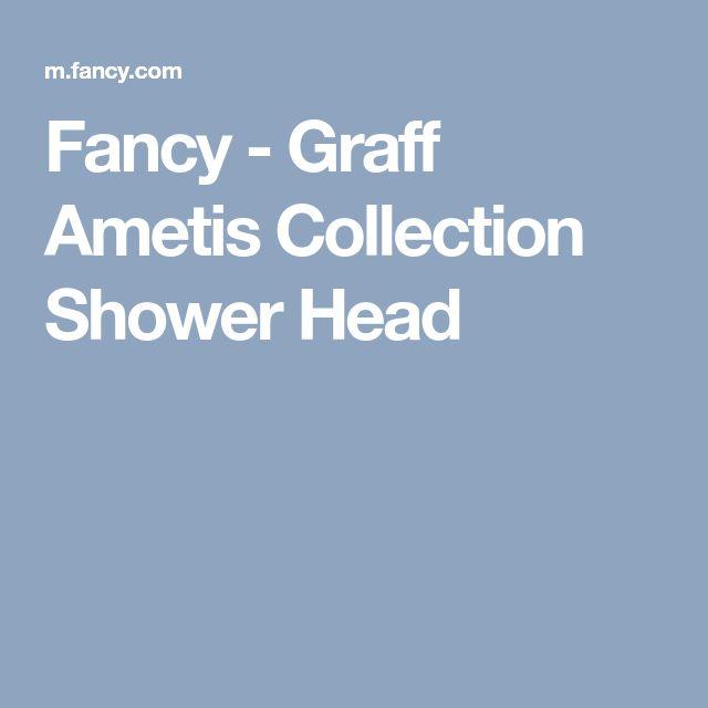 Fancy - Graff Ametis Collection Shower Head