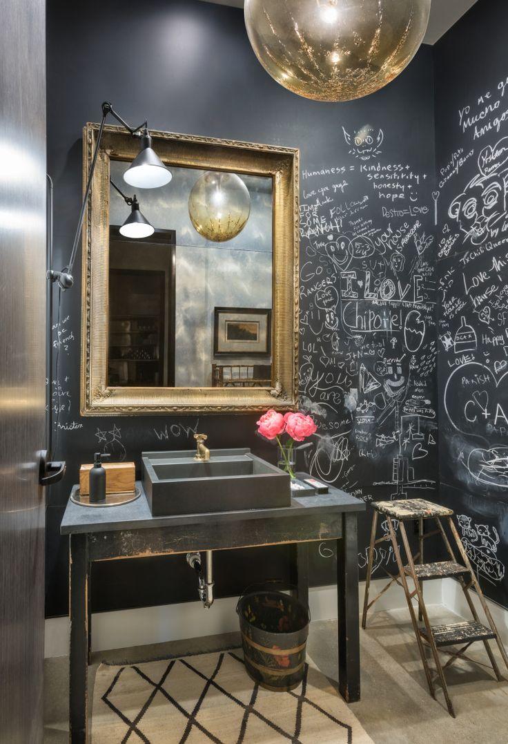 133 best Powder \u0026 Bathrooms images on Pinterest | Cabinet handles ...