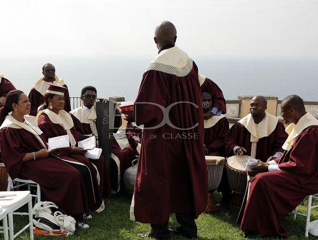 Tradizionale coro Gospel per un esclusivo matrimonio a Sorrento - Eventi di Classe - Rosy Fusillo