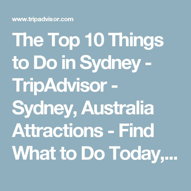 Beautiful Attractions In Sydney Ideas On Pinterest Sydney - 10 things to see and do in sydney australia