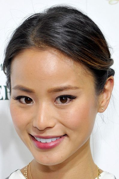 Jamie Chung's Soft Updo