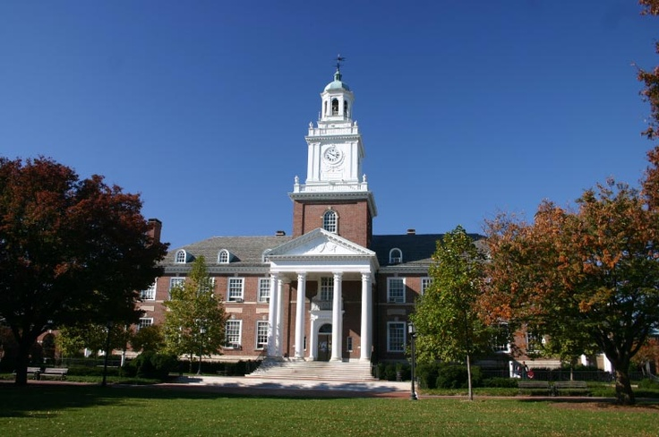 Gilman Hall at Johns Hopkins University - North Country Unfading Black roofing slate