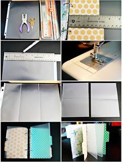 Studio Calico: Tutorial: making your own page protectors