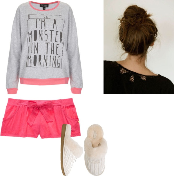 Quot Pajama Outfit Quot By Jfisk On Polyvore Pajamas Pinterest