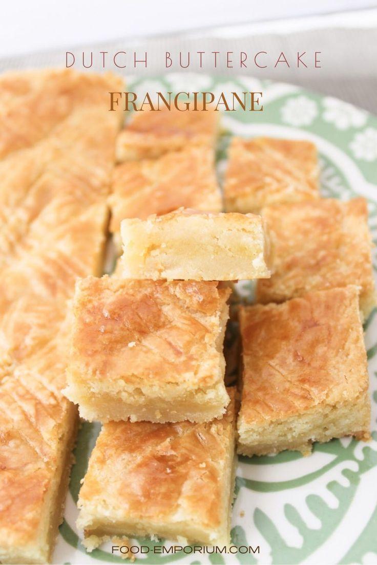Dutch buttercake frangipane recipe cookies and dough