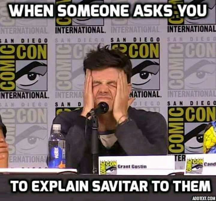 Or the multiverse. Or doppelgängers. Or Alchemy. Or flashpoint. Or time travel. Or pretty much anything in this show.