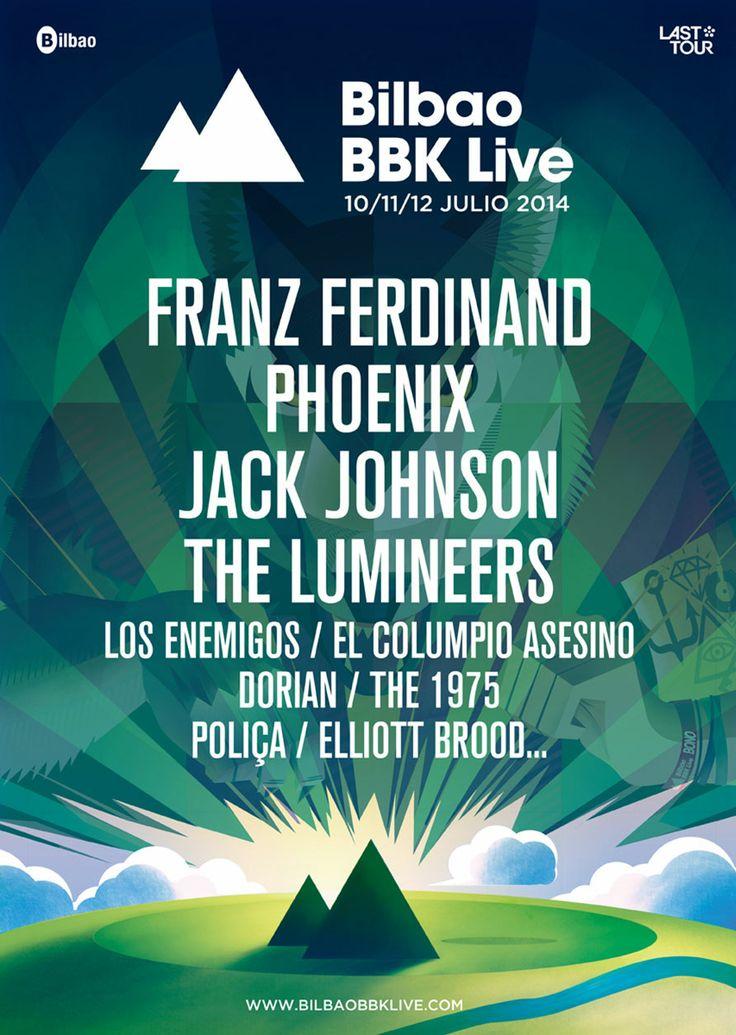 #31C_News: Franz Ferdinand, Phoenix, The Lumineers o Jack Johnson primeros nombres anunciados para la próxima edición del Bilbao BBK Live, que tendrá lugar los días 10, 11 y 12 de julio en kobetamendi. Organiza: Last Tour International