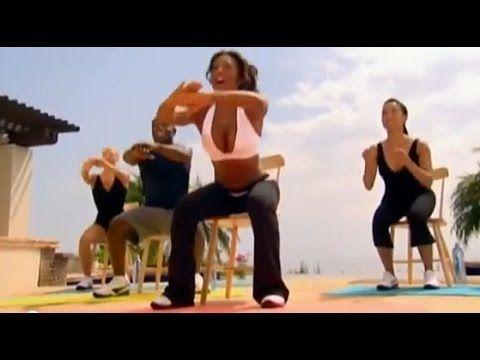 Mel B - 10 minutowy trening nóg - YouTube