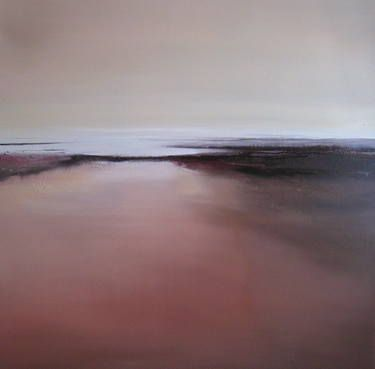 """Burnished,"" original landscape painting by artist Tessa Houghton (UK) available at Saatchi Art #SaatchiArt"
