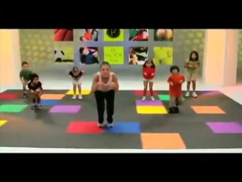 ▶ Animal exercise for kids with animals - YouTube