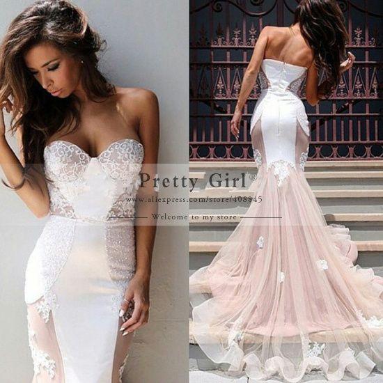 mermaid wedding dresses 2015 | ... Mermaid-Wedding-Dresses-2015-Sweetheart-Backless-Fashionable-Wedding