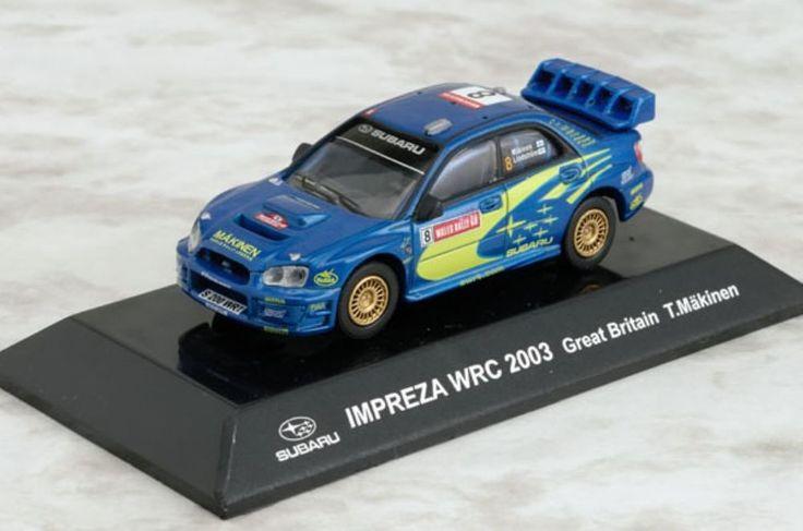 CM's 1/64 RALLY CAR COL SS.10 Subaru IMPREZA WRC 2003 Great Britain T.Makinen