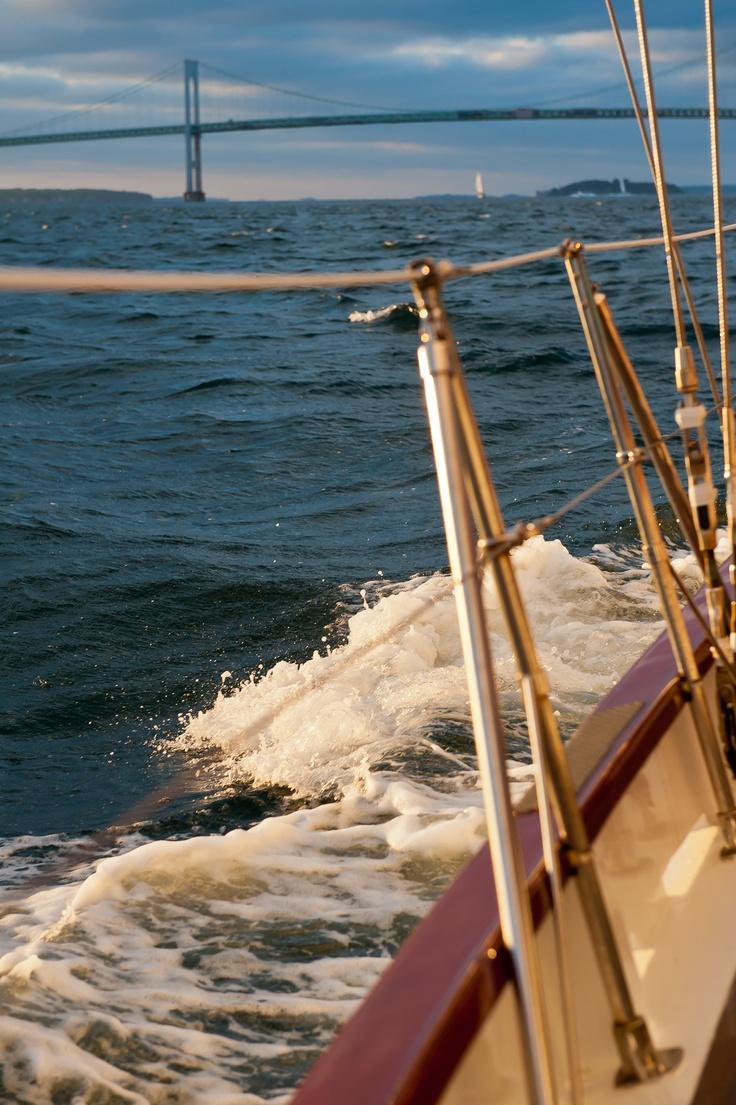 The schooner madeleine newport ri visitrhodeisland for Fishing newport ri