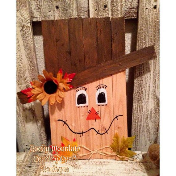 Reversible Scarecrow/Snowman by RockyMtnCountryCraft on Etsy