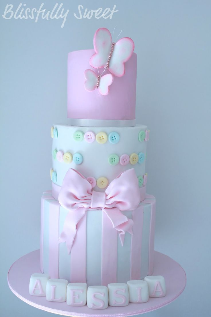 Blissfully Sweet: Babies Cakes