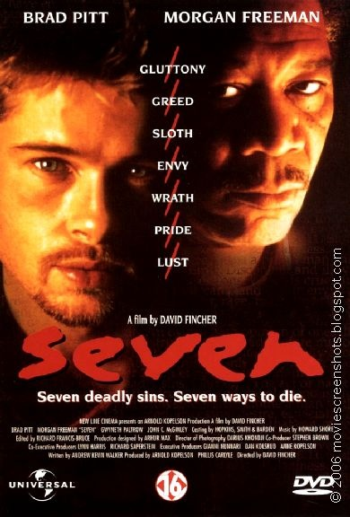 The Most Hollywood film of all time. Brad Pitt, Morgan Freeman, Gwyneth Paltrow, surprise cameo.... what's not to love?!