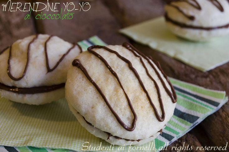 merendine yo-yo al cioccolato fatte in casa ricetta merenda golosa