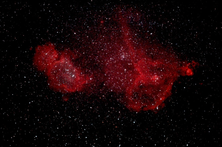Heart and Soul Nebula Spitzer - Pics about space