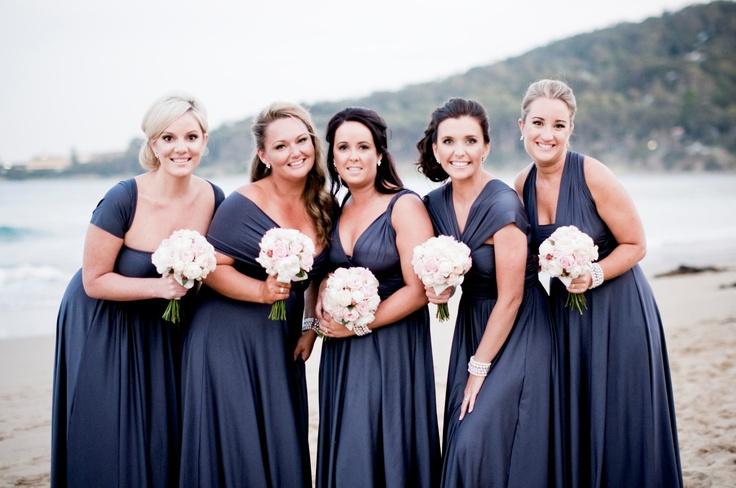Stunning bridesmaids dresses