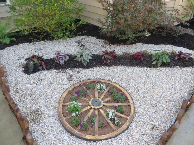 Pin by tractor supply co on your diy ideas pinterest for Diy wagon wheel