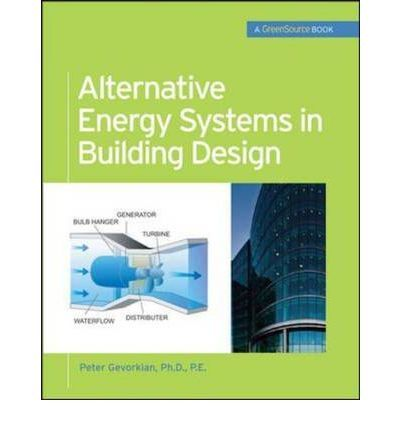 This GreenSource book is a comprehensive design reference for architects, providing pragmatic, hands-on design and installation guidelines alternative energy systems technologies.