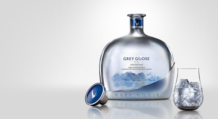 NEW GREY GOOSE VX, MASTERFULLY FINISHED WITH A HINT OF PRECIOUS COGNAC    GREY GOOSE® Vodka   The World's Best Tasting Vodka