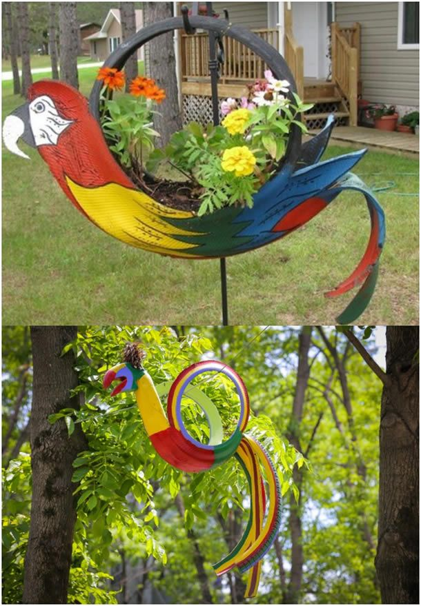 Artesanato Jardim Da Estrela ~ As 25 melhores ideias de Artesanato de jardim reciclado no Pinterest Arte reciclada de jardim