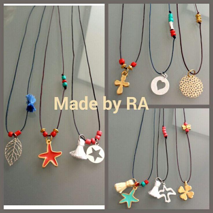Colares  Made by RA | Encomendas: rmba77@gmail.com  www.facebook.com/madebyra