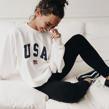 There's nothing better than a slouchy sweat to get you through your Sunday sessions.