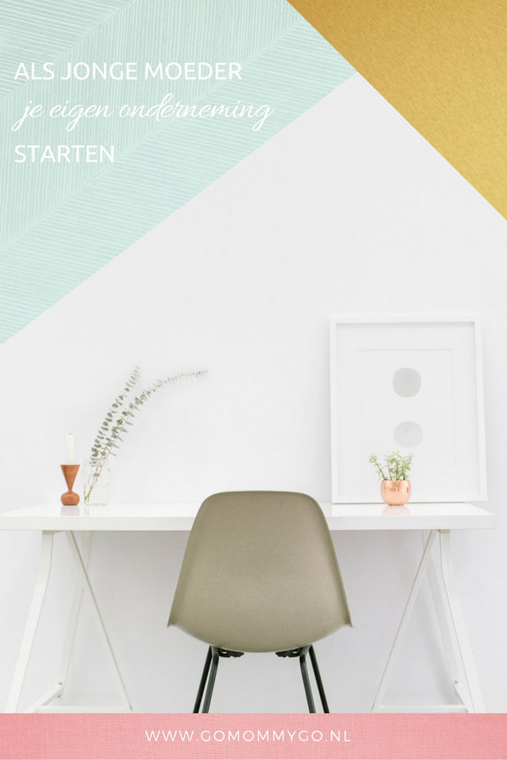 Voor jezelf beginnen als jonge moeder: tips & tricks | www.gomommygo.nl