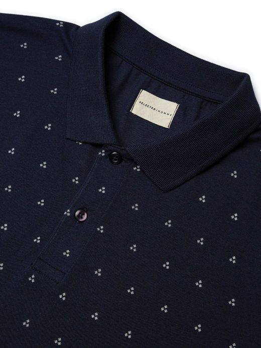 PRINTED - POLO SHIRT, Navy Blazer