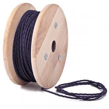 Kábel dvojžilový skrútený - Predstavujeme vám moderné riešenie Vášho osvetlenia pomocou moderných a kreatívnych textilných káblov