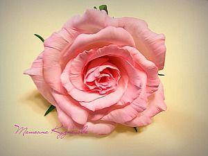 Роза из фоамирана «Нежность». Часть 1: обработка лепестков - Ярмарка Мастеров - ручная работа, handmade