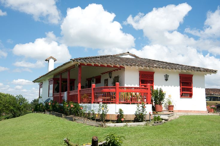 A typcial hacienda in the Zona Cafetera - Colombia