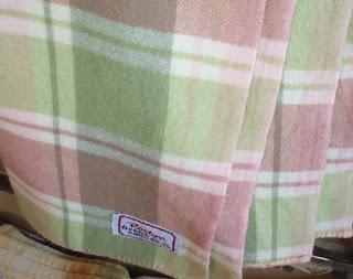 Vintage wool blanket