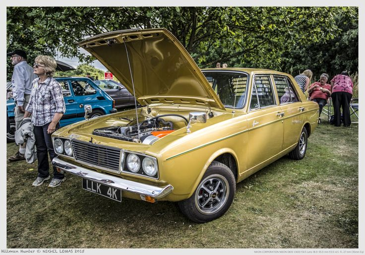 Hillman Hunter by Nigel Lomas on 500px