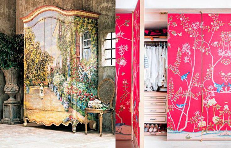 Sugestão de SilMez   reformar/renovar um armário sem gastar muito!