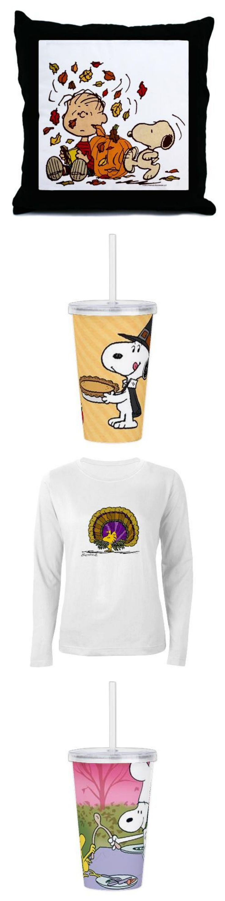 The seasons are changing! Mix things up in your home and closet with new Thanksgiving and fall designs from The Snoopy Store featuring your favorite Peanuts characters. Start shopping at CollectPeanuts.com and help support our site!