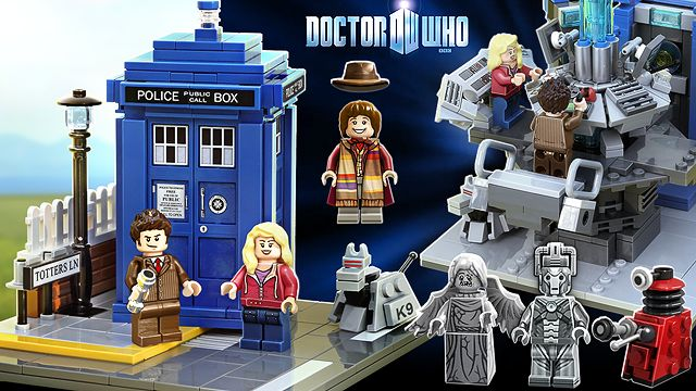 LEGO Doctor Who And Companions