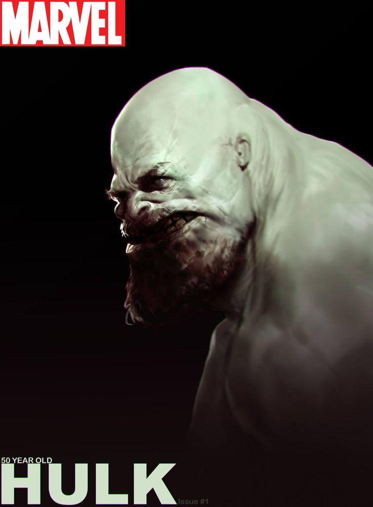 50 years old Hulk by Robotpencil on DeviantArt