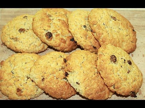 Овсяное печенье, самое вкусное