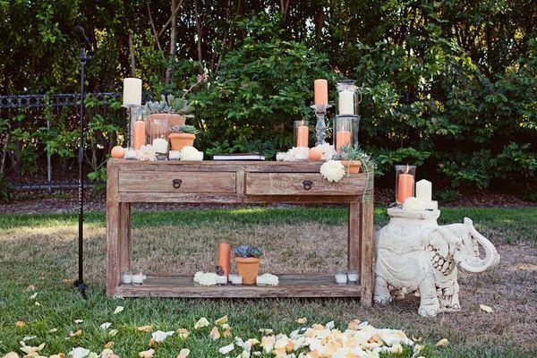 1000+ Ideas About Outdoor Wedding Altars On Pinterest