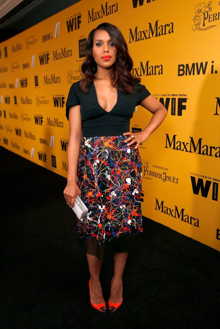 Pin for Later: Epoustouflante Kerry Washington juste après sa grossesse !